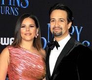 Lin Manuel Miranda y Vanessa Nadal celebran su aniversario de bodas