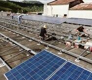 El proyecto Adjuntas Pueblo Solar, de Casa Pueblo, comprende casi 200 instalaciones -desde decenas de casas a restaurantes a comercios- repartidas en 15 barrios.