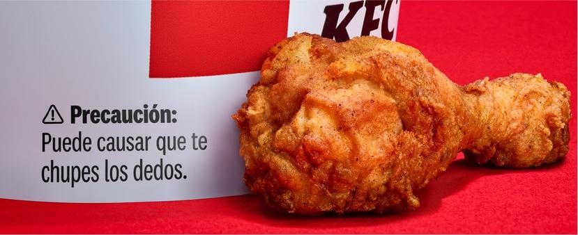 Con un poco de humor, la empresa KFC busca fomentar la higiene entre sus clientes, para evitar la propagación del COVID-19.