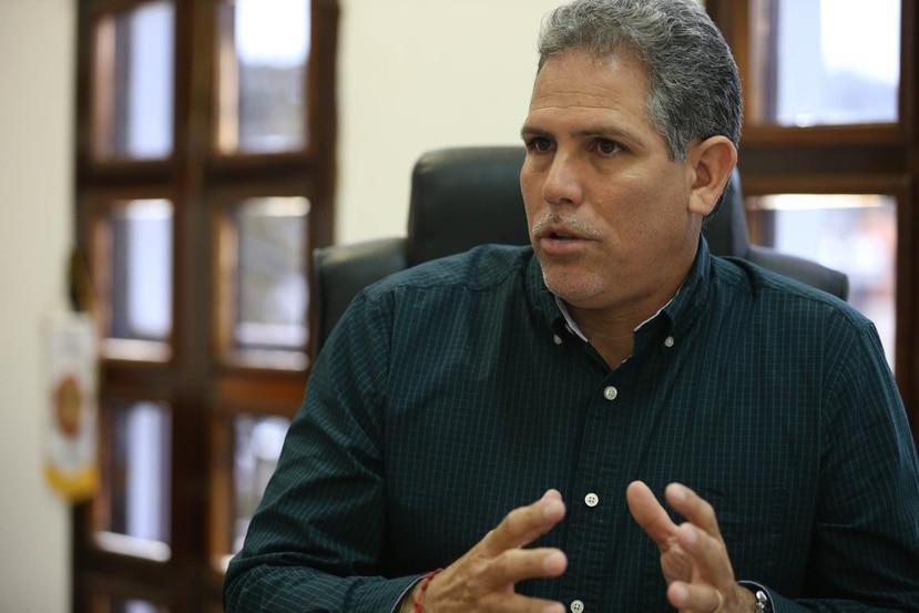 El exalcalde Corozal Sergio Torres.
