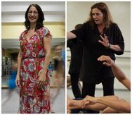 Izquierda: Lolita Villanúa, fundadora de Andanza - Compañía Puertorriqueña de Danza Contemporánea. Derecha: Petra Bravo, creadora de Danza Brava, Hincapié y  los Encuentros de Danza Moderna. (GFR Media)