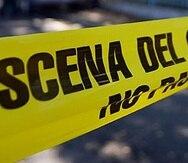 Uno de los baleados fue llevado al hospital con una herida en el cuello.