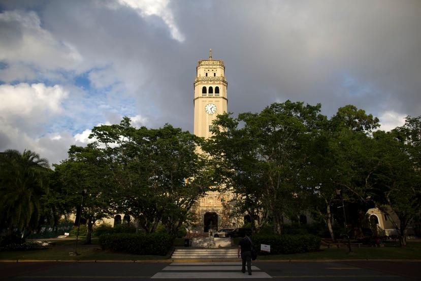 Torre del Recinto de Río Piedras de la Universidad de Puerto Rico.