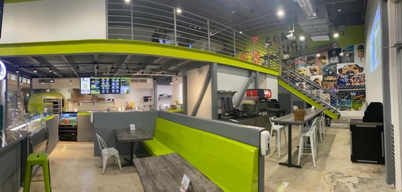 El nuevo local de Guaynabo incluirá una moderna cocina abierta, donde los comensales podrán crear la pizza a su gusto y verla cocinar en un horno italiano de ladrillos.