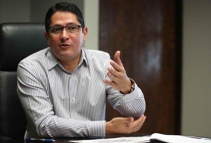 El contralor electoral, Walter Vélez Martínez. (GFR Media)