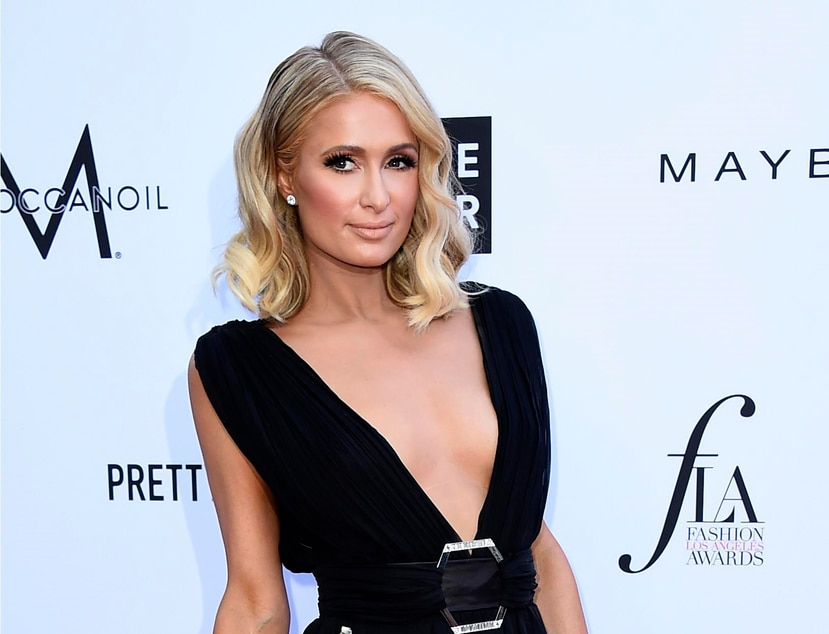 Paris Hilton presumió en las redes sociales de la boda de su hermano (AP).