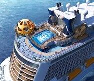 El Spectrum of the Seas, de la clase Quantum Ultra de Royal Caribbean, contará con un área exclusiva para suites, del piso 13 al 16. (GFR Media)