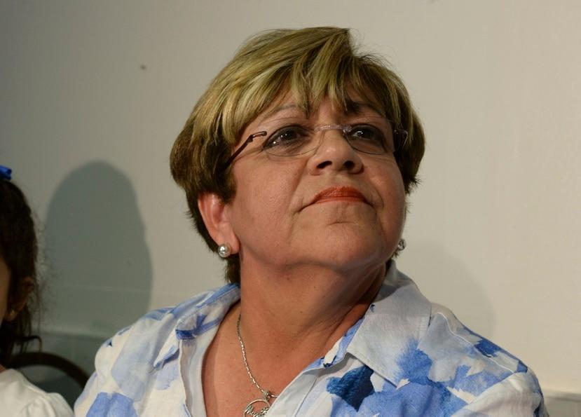 """La exalcaldesa de Ponce María """"Mayita"""" Meléndez."""