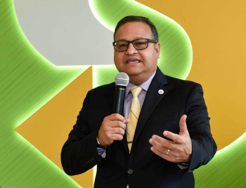 """William Miranda Torres, alcalde de Caguas, destacó que es """"necesario atender desde todos los flancos el problema de la violencia contra la mujer""""."""