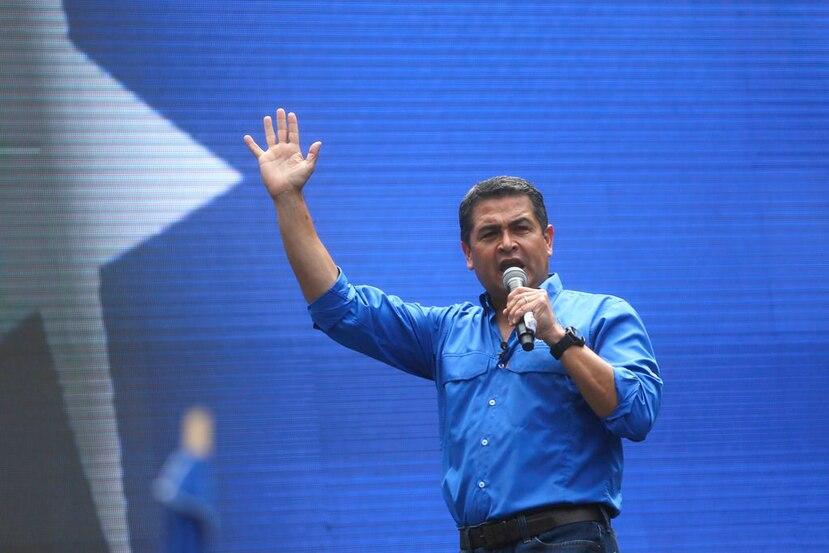 Juan Orlando Hernández, presidente de Honduras (AP).