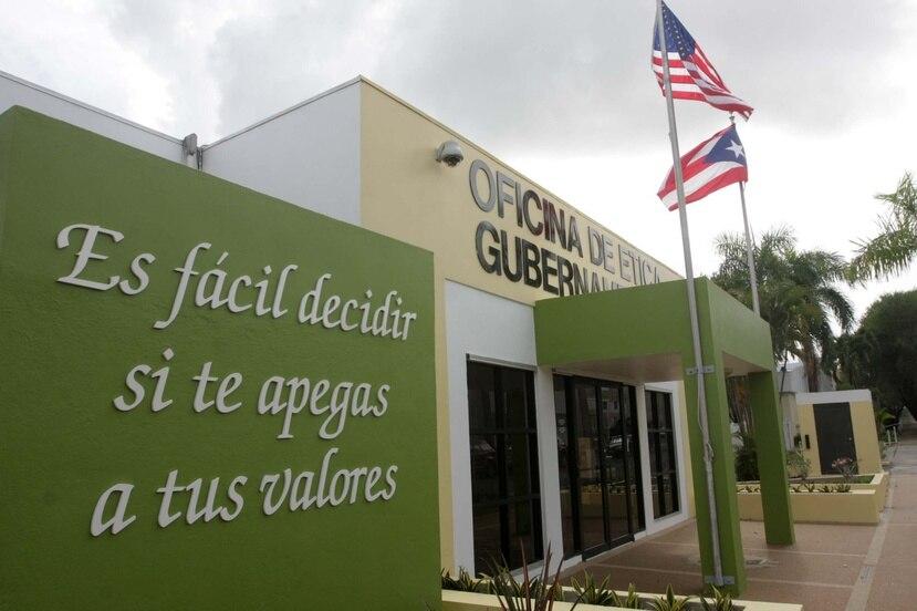 Oficina de Ética Gubernamental en San Juan. (GFR Media)
