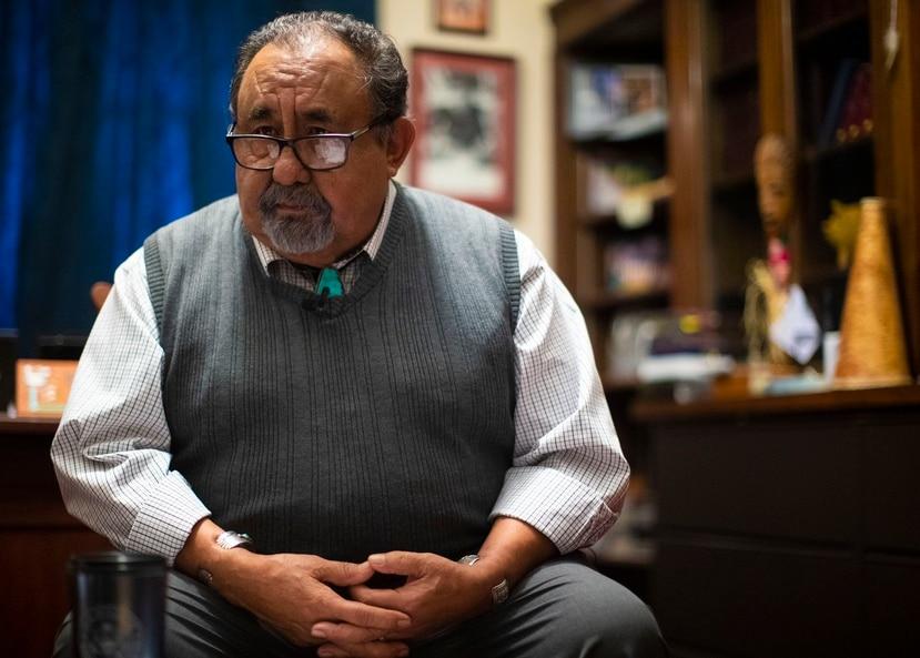Raúl Grijalva, presidente del Comité de Recursos Naturales de la Cámara de Representantes de Estados Unidos.