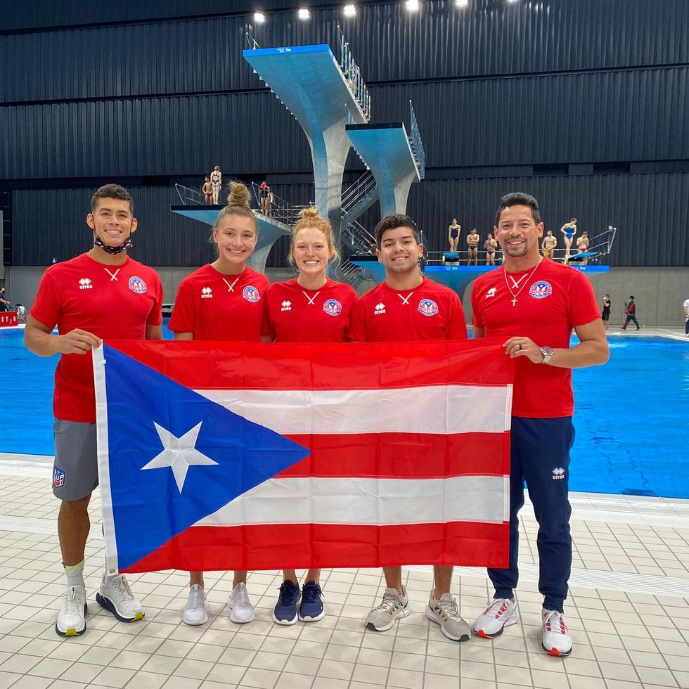 Mark Ruiz llegó a las Olimpiadas como atleta de Estados Unidos y ahora lo hará como entrenador de Puerto Rico