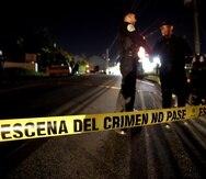 La Policía recibió una llamada alertando sobre detonaciones y personas heridas cerca de las 8:40 p.m.