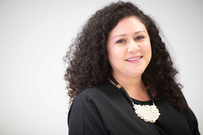 Jannette Berríos, de la compañía Symphonic Distribution, empresa que desde hace 13 años se dedica a la distribución y mercadeo de la música a nivel digital.