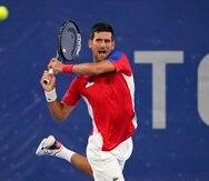 Novak Djokovic está encaminado a ganar la medalla de oro en los Juegos Olímpicos de Tokio.