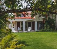 La hospedería Villa Alegre en Dorado, que está disponible en la plataforma Airbnb.