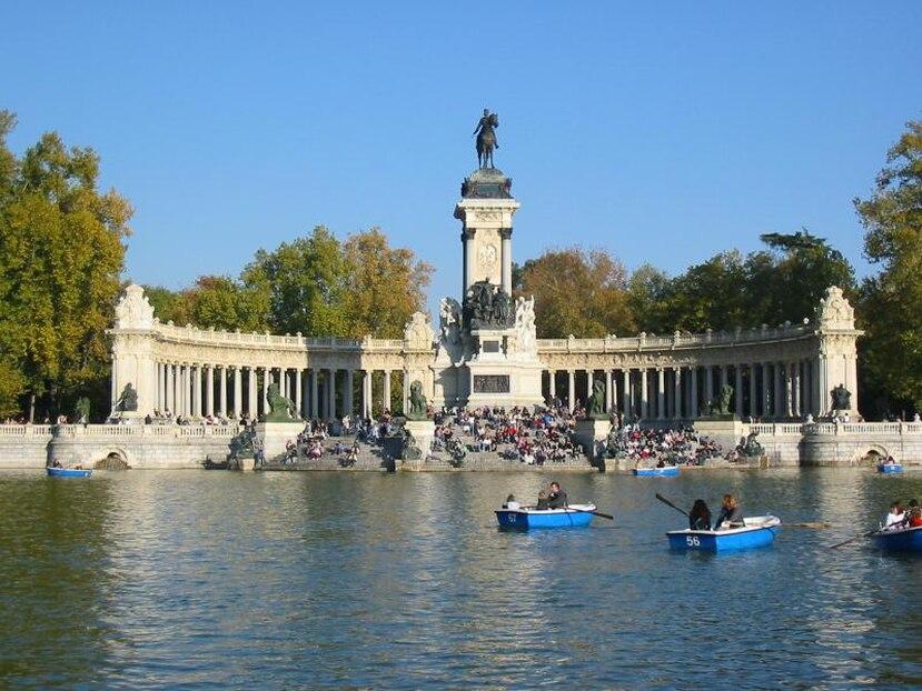 Parque del Retiro en Madrid, España. (Archivo)