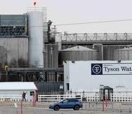 """Ricardo Salvador apunta como responsables de esa situación a empresas """"que cotizan en bolsa"""" y especialmente al gigante Tyson Foods. (AP)"""