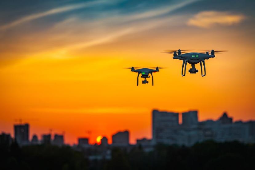 Los drones son utilizados en diversas industrias alrededor del mundo. (Shutterstock)