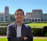 Kevin N. Ortiz Ceballos: con la mira puesta en el universo