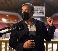 """El comisionado electoral del PPD, Gerardo """"Toñito"""" Cruz."""