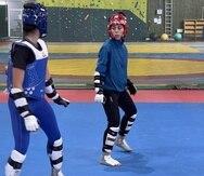 Victoria Stambaugh, de taekwondo, es una de las atletas presente en Finlandia.