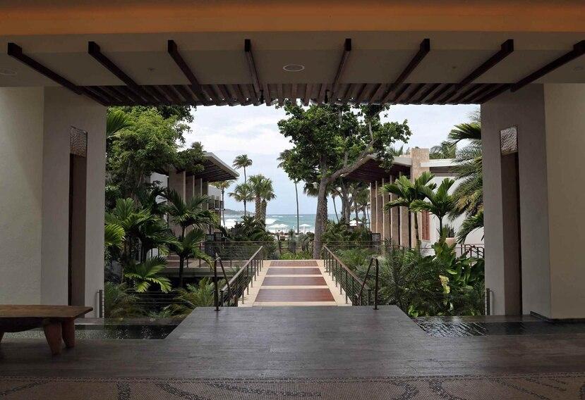 Vista del Dorado Beach Ritz-Carlton Reserve, hotel de lujo en Dorado que cerró el pasado domingo y se espera reabra en verano.