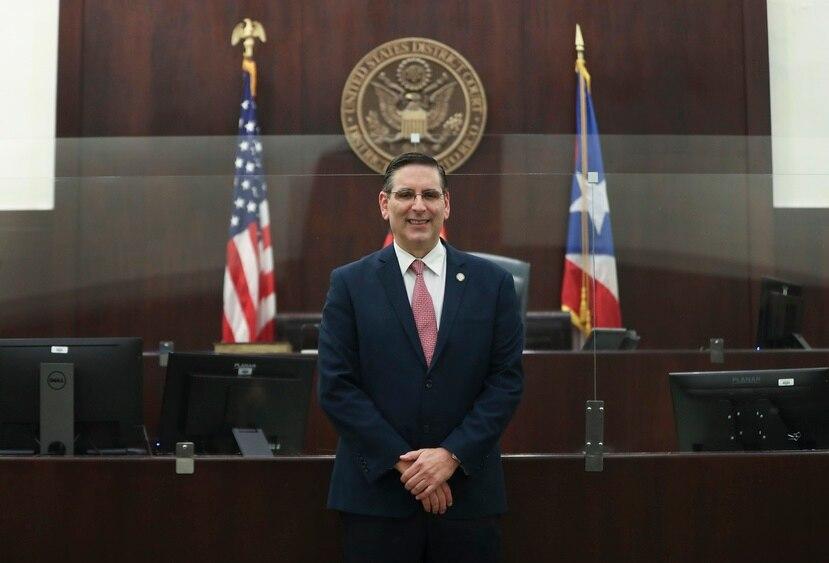 Judge Gustavo Gelpí.