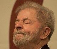 Lula cumple una pena de prisión por corrupción y lavado de dinero. (EFE)