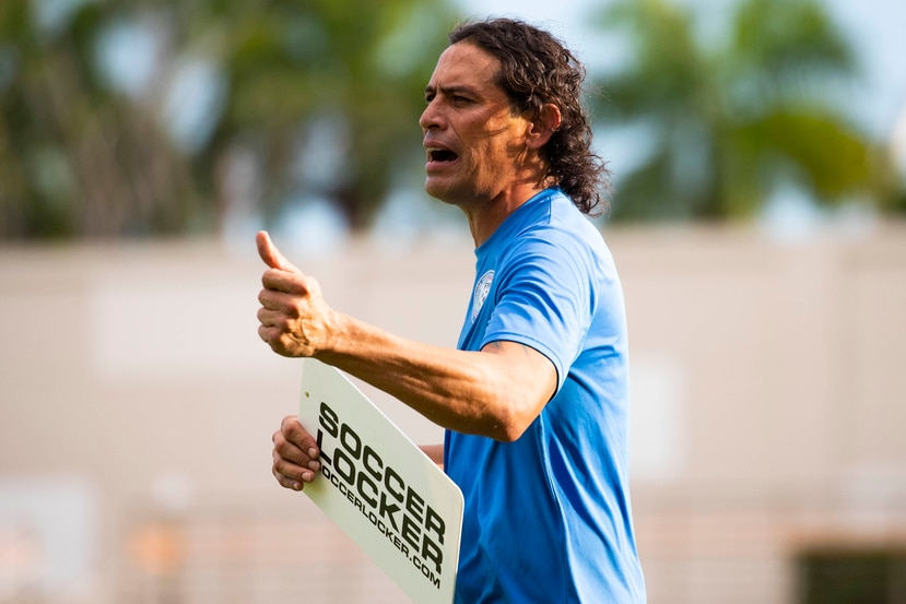 Elgy Morales, director técnico de la Selección.