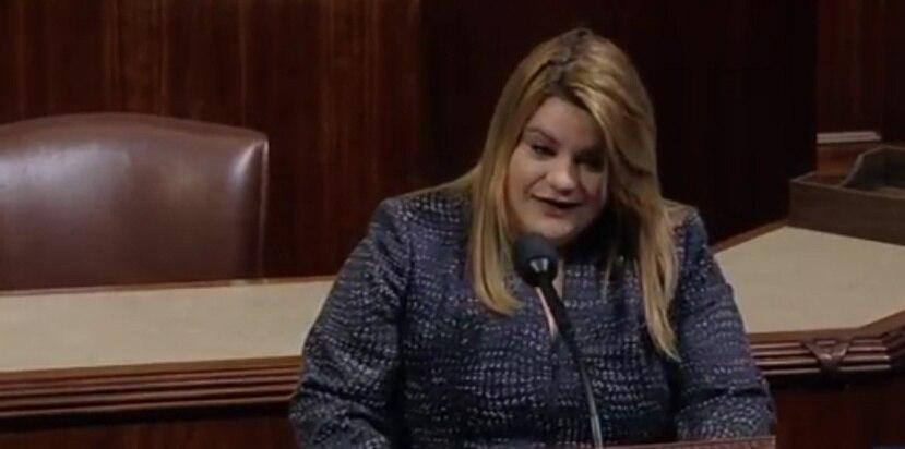 González habló en el inicio de una sesión presidida por el 'speaker' Paul Ryan. (Captura C-Span)