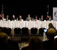 Los siete miembros de la Junta de Supervisión Fiscal fueron nombrados el 31 de agosto de 2016.