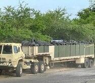 La Guardia Nacional continuará asistiendo al DRNA en el proceso de recolección de gomas a través de toda la isla.