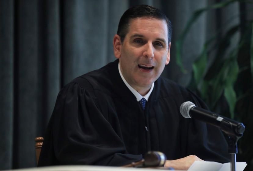 El juez federal Gustavo Gelpí.