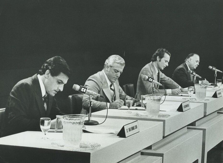 Los exgobernadores Rafael Hernández Colón y Carlos Romero Barceló, junto al líder independentista Rubén Berríos Martínez, protagonizaron históricos  encuentros en defensa de sus postulados.
