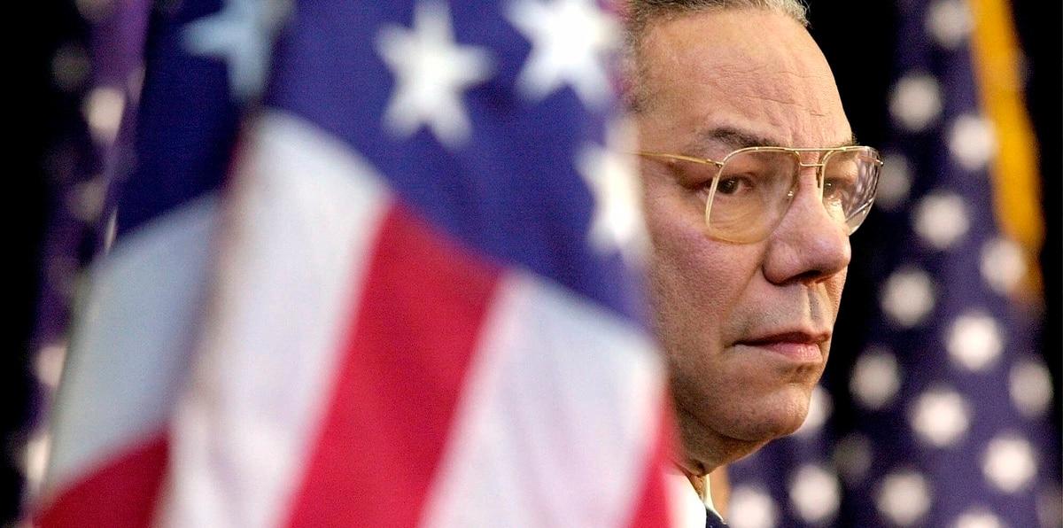 Colin Powell fue el primer secretario de Estado afroamericano de Estados Unidos.