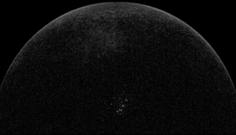 Si bien no hay huracanes en Mercurio, se ha observado que hay mucho hielo, el cual puede ayudar a los científicos lidiar con los persistentes efectos de un huracán (Arecibo Observatory/UCF/NASA).