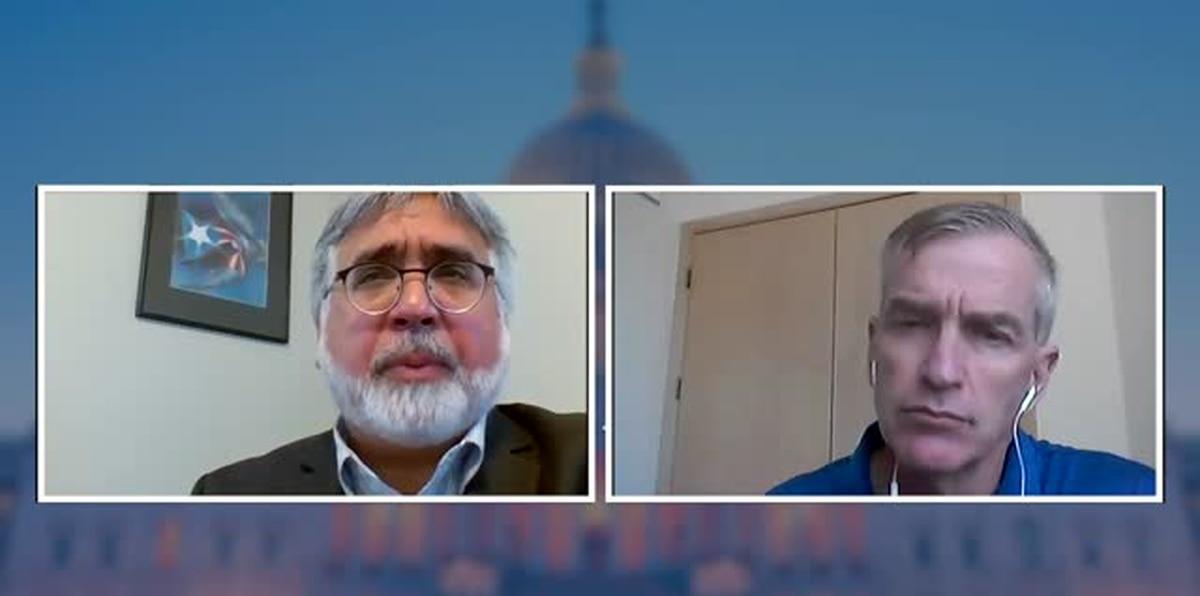 Peter Brown reitera que el futuro político de Puerto Rico a nivel federal es asunto del Congreso
