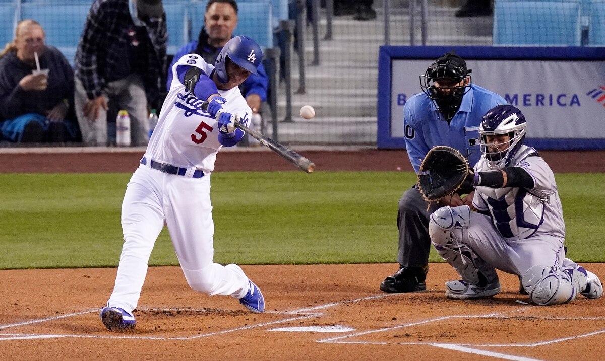 Los Dodgers se llevan con un jonrón de Corey Seager el primer duelo ante los Padres