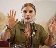"""La cantante Olga Tañón se presentó en el 2009 en el concierto internacional """"Paz sin fronteras"""" en Cuba."""