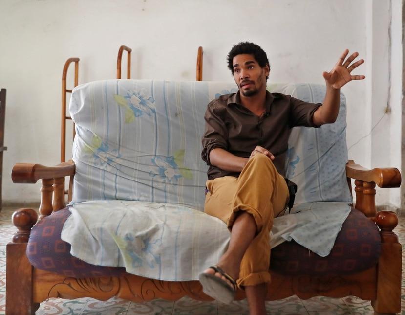 Luis Manuel Otero Alcantara, artista disidente cubano.