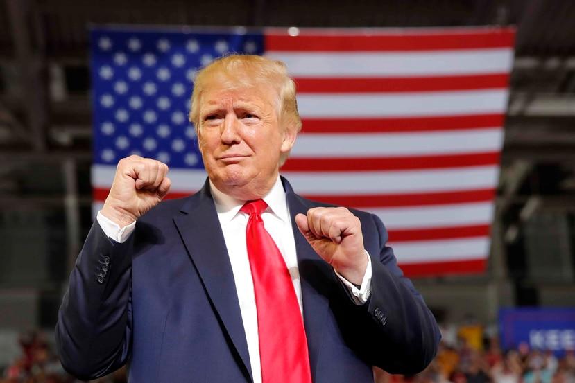 El presidente de Estados Unidos, Donald Trump. (AP)