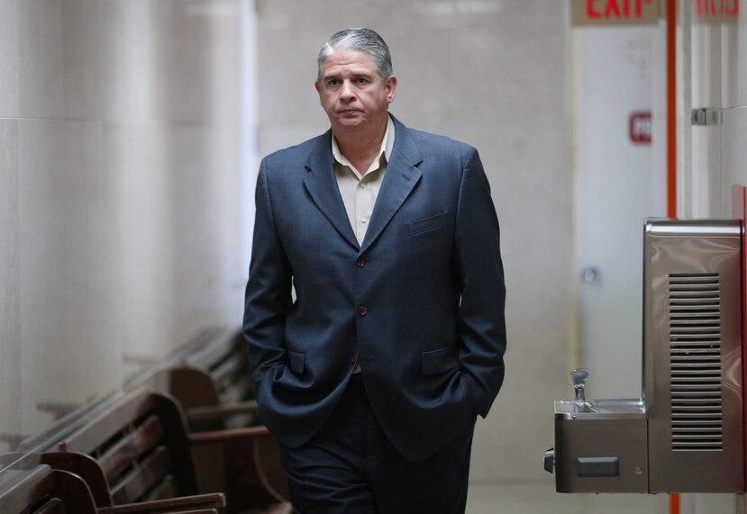 Carlos Acevedo gozaba de una licencia sin sueldo de su trabajo como ayudante administrativo en la oficina de Manejo de Emergencias de San Juan que se extendió hasta el 28 de febrero.