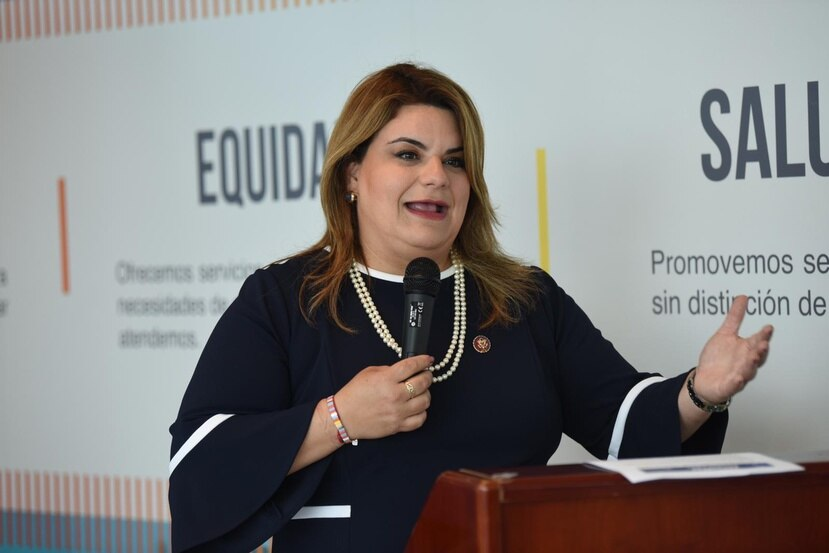 La comisionada residente Jenniffer González.