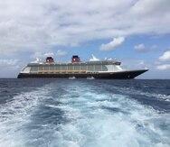 Disney Cruise Line también confirmó la extensión de suspensión de viajes, por la que todas las nuevas salidas del Disney Dream y Disney Fantasy, se cancelarán hasta el 18 de junio. (Gregorio Mayí/Especial para GFR Media)