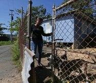 En la foto, Alejandrina Quiñones, una de las seis familias beneficiadas con esta iniciativa.
