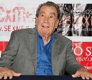 Fotografía de archivo del 2 de marzo de 2016, del actor mexicano Alfonso Zayas, durante una rueda de prensa en la Ciudad de México.