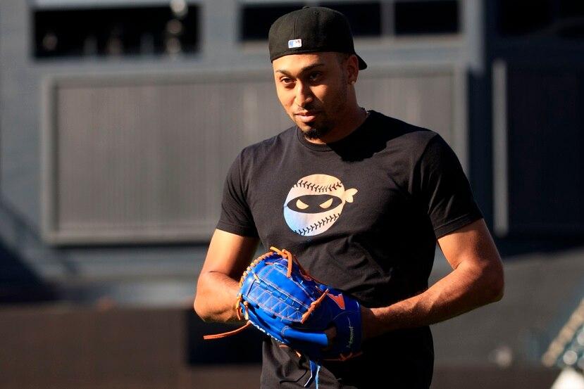 """El naguabeño Edwin """"Sugar"""" Díaz confía en que los Mets puedan terminar en la primera posición en la División Este de la Liga Nacional y clasificar a los playoffs."""
