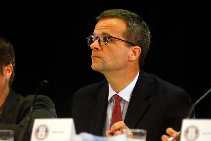 David Skeel, presidente de la Junta.